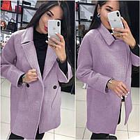 Класичне жіноче кашемірове пальто на гудзиках (Норма), фото 10