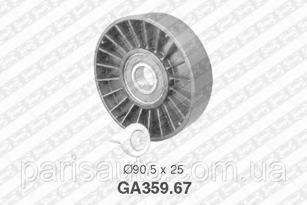 Паразитный / ведущий ролик, поликлиновой ремень NTN-SNR GA359.67