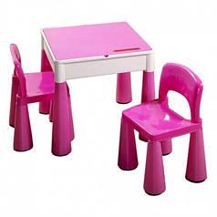 Детский столик и два стульчика Tega Mamut 899P розовый