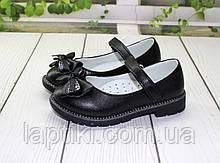 Черные туфли для девочек