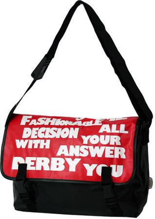 Молодежная оригинальная сумка Derby 0277023,00 черный