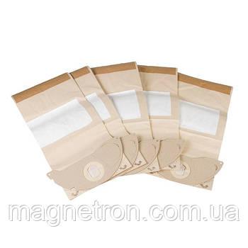 Набор мешков бумажных (5 шт) + фильтр микро 6.904-143.0 для пылесосов Karcher