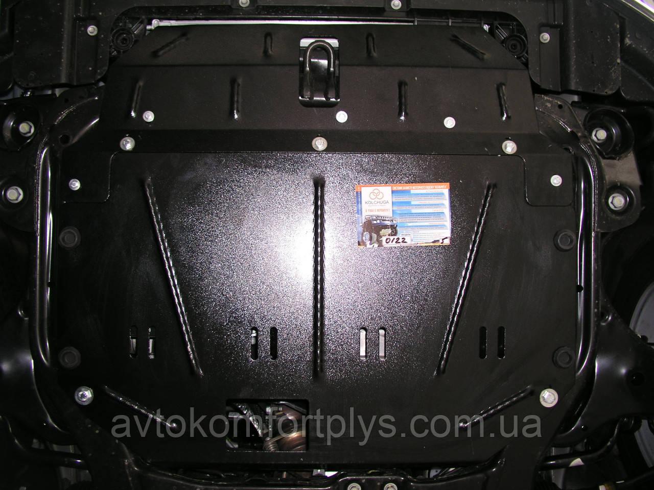 Металлическая (стальная) защита двигателя (картера) Hyundai Elantra IV (HD) (2006-2011) (все обьемы)