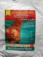 Сухой корм для котов с ассорти, ЗооКорм, 10 кг