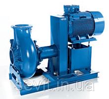 Насос канализационный сухой установки с клиноременной передачей SD
