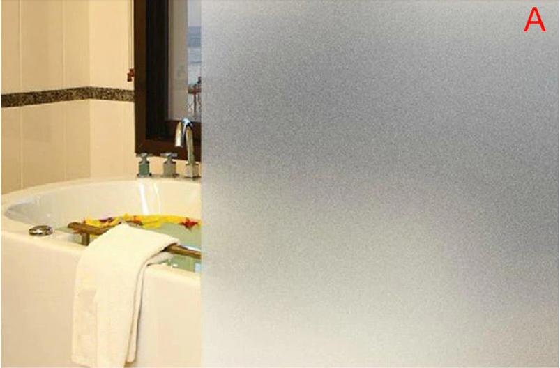 Виниловая матовая наклейка на окна для ванной комнаты, офиса, квартиры, длина 2метра, ширина 60см