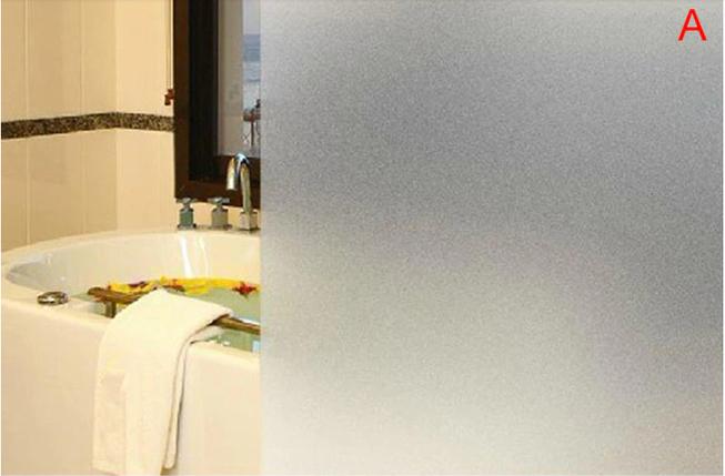 Виниловая матовая наклейка на окна для ванной комнаты, офиса, квартиры, длина 2метра, ширина 60см, фото 2