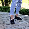 Ультра модные черные кожаные туфли мокасины натуральная кожа флотар, фото 5