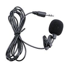 Микрофон петличный TRY MIC 3.5мм(3) каб. 1,5 м черный новый