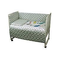 """Набір в дитячу ліжко розмір 60х120 """"Cat"""""""