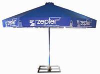 Уличные зонты: изготовление