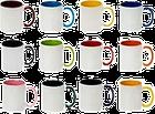 Кружка чашка Перший раз у перший клас 2021 р Біла всередині і ручка помаранчева, фото 2