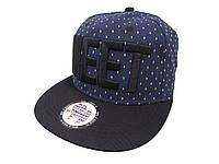 Темно-синяя кепка MEET