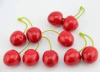 Вишня декоративная 2,5 см красная
