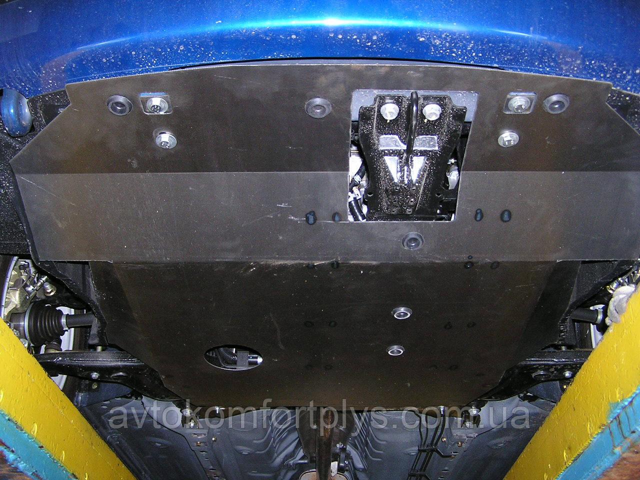 Металлическая (стальная) защита двигателя (картера) Chery Elara I поколение (2006-2011) (V-2,0)