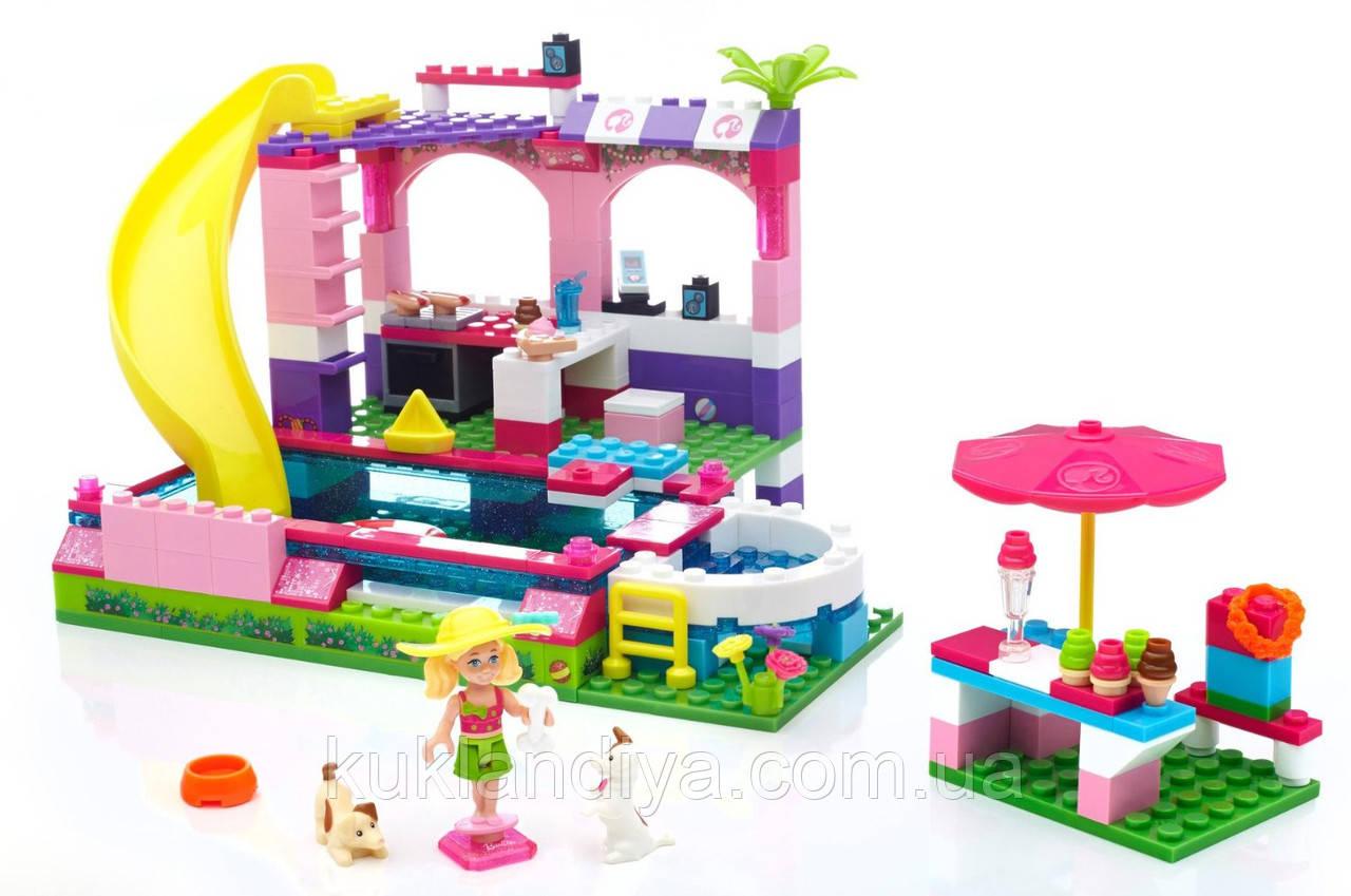 Конструктор Mega Bloks Barbie Вечеринка в Бассейне