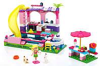 Конструктор Mega Bloks Barbie Вечеринка в Бассейне, фото 1