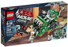 Конструктор LEGO THE LEGO MOVIE 70805 Trash Chomper Самолёт-мусоровоз.