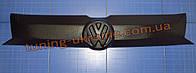 Зимняя накладка (заглушка) на решетку радиатора для Volkswagen T5 с 2010+ верхняя матовый
