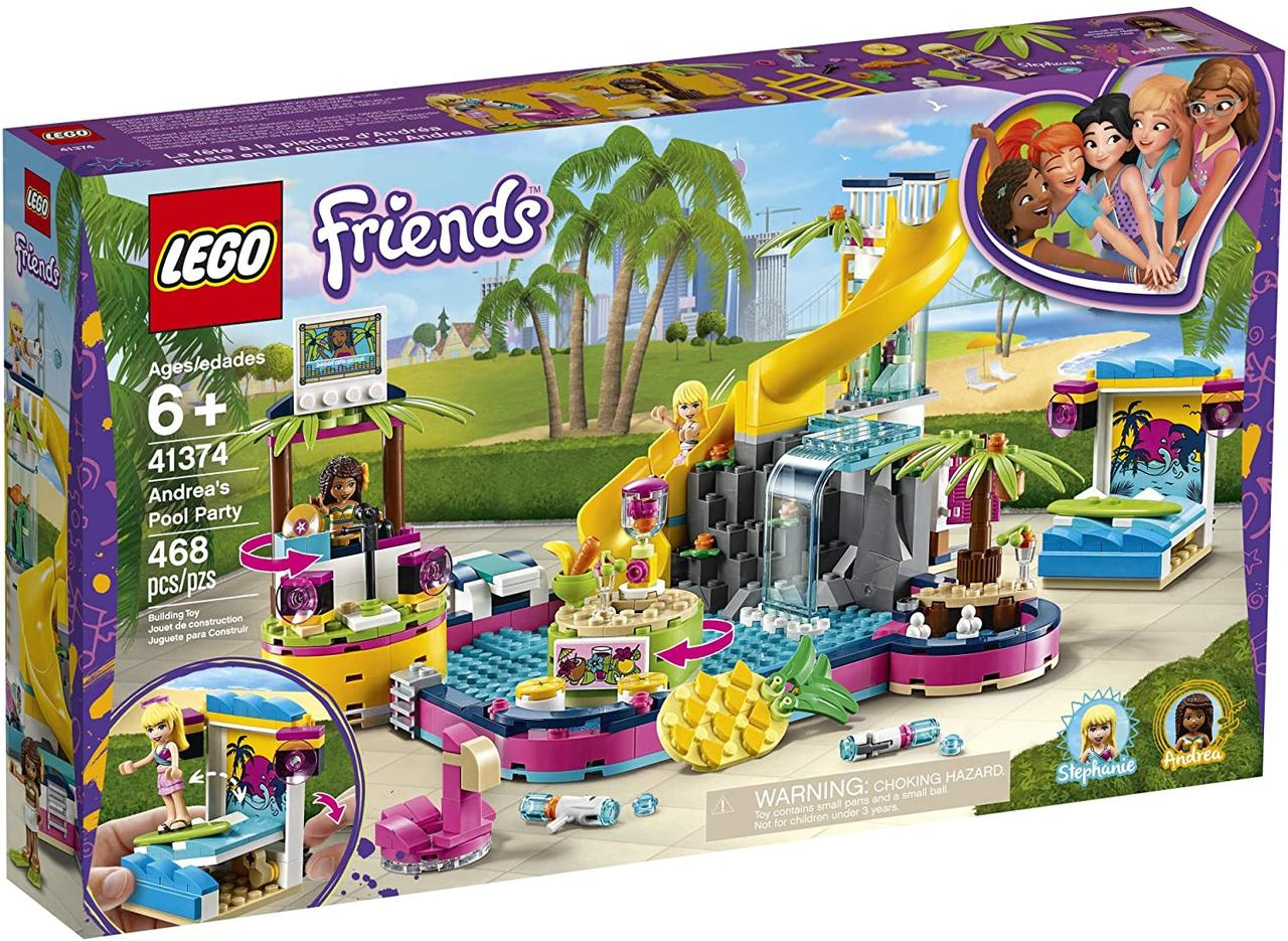 Конструктор LEGO Friends 41374 Андреа у бассейна