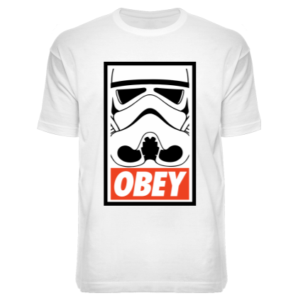 Футболка Obey Trooper