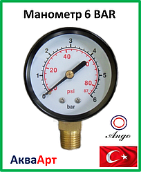 Манометр 6 ВАR