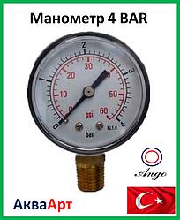 Манометр 4 ВАR