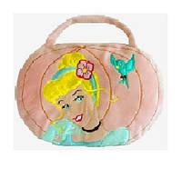 Подушка - сумка D 15084 (28шт) 2в1,в пакете 30*40