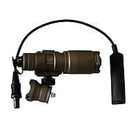 Тактический фонарик с креплением на планку Пикатинни EMERSON SF Style M300 Mini LED WeaponLight Tan