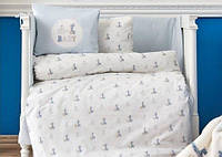 Постельное белье в детскую кроватку Karaca Home. Ранфорс Tospa-Детский в кроватку