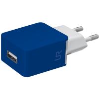 Сетевое зарядное устройство для смартфона urban revolt smart wall charger blue (20144)
