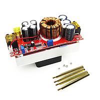 1800Вт, 30А Підвищуючий перетворювач з регулюванням напруги, струму, 10-60В до 12-90В