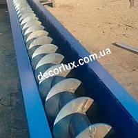 Шнекові транспортери для зерна, борошна, цементу. Виготовлення шнеків.