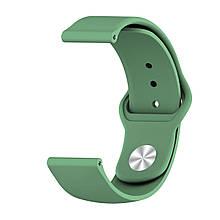 Ремінець BeWatch силіконовий для Samsung Galaxy Watch 42 мм Зелений (1010306.1)