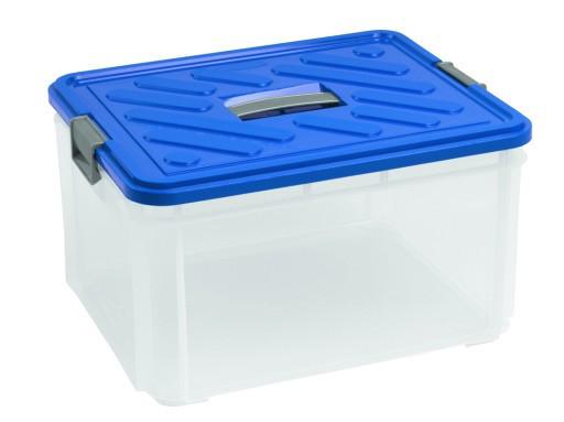 Ящик для зберігання 30л з ручкою