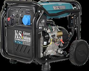 Інверторний Генератор газ-бензин Konner&Sohnen KS 8100iEG (8 кВт)
