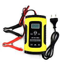 Зарядний пристрій для автомобільного акумулятора Foxsur 12V 5-6A