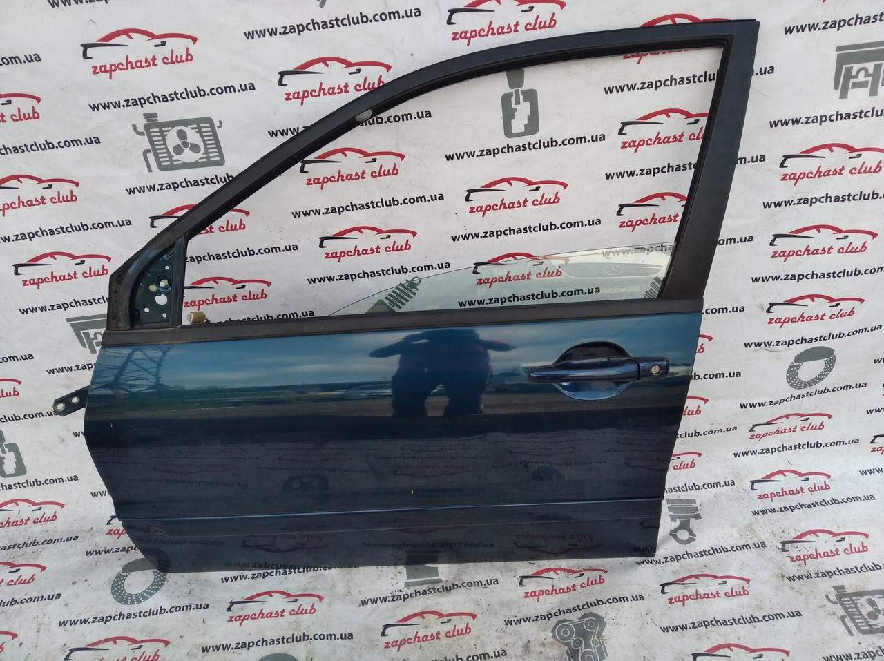 Дверь передняя левая,цвет синий MN150435 9915702 Lancer 9 Mitsubishi