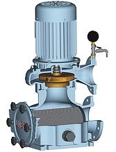 Циркуляційний насос з вбудованим фільтром грубого очищення UNIBAD
