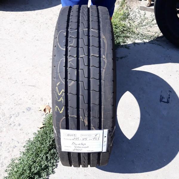 Шины б.у. 235.75.r17.5 Dunlop SP346 Данлоп. Резина бу для грузовиков и автобусов