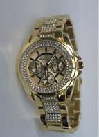 Часы женские Мишель Корс кварцевые со стразами, копия бренда