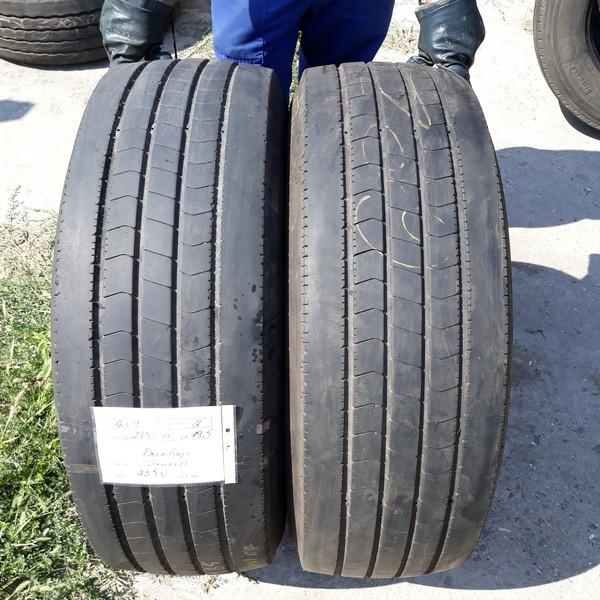 Шины б.у. 285.70.r19.5 Dunlop SP344 Данлоп. Резина бу для грузовиков и автобусов