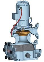 Циркуляційний насос з вбудованим фільтром грубого очищення UNIBAD ХС