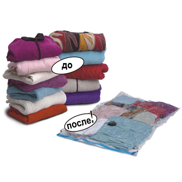 10шт Вакуумные пакеты для хранения одежды прозрачные размер 60*80 вакуумные пакеты для хранения вещей
