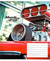 "Тетрадь 24 листа ШКОЛЯРИК ""Need For Drive"" клетка, фото 2"
