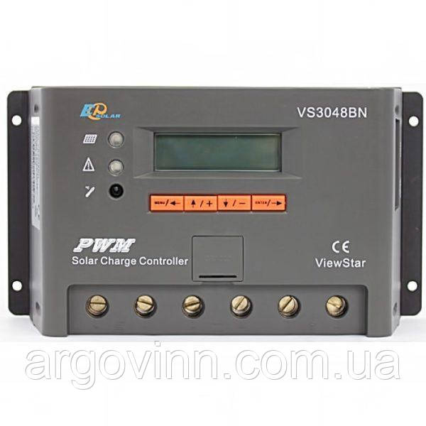Контролер заряду EPSOLAR VS3048BN, 30A 12/24/36 / 48В
