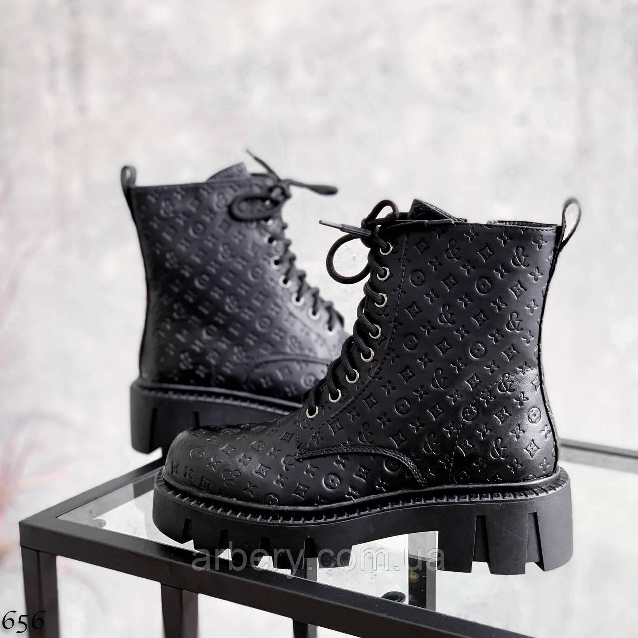 Шикарні черевики на шнурівці під бренд