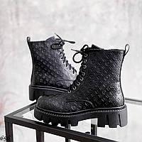Шикарні черевики на шнурівці під бренд, фото 1