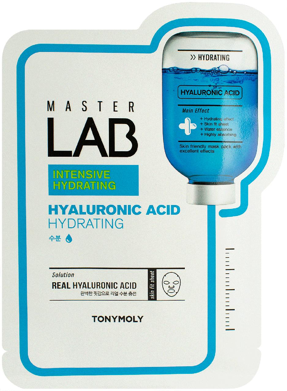 Тканевая маска для лица с гиалуроновой кислотой Tony Moly Master Lab Hyaluronic Acid Mask Tony Moly