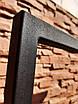 Опора для столу ROOMY Loft Design товщина металу 2мм Чорний, фото 8